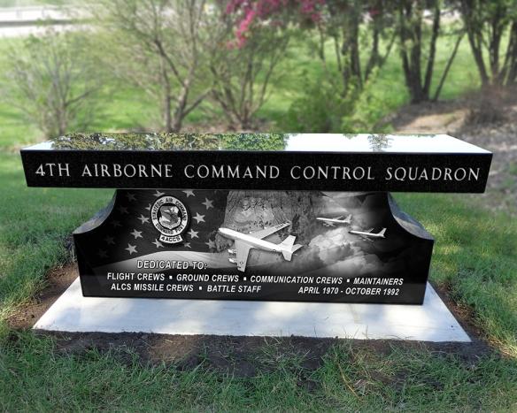 Granite Memorial Bench